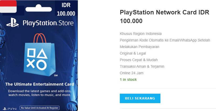 Dapatkan Beragam Benefit dengan Memakai Playstation Network Card IDR